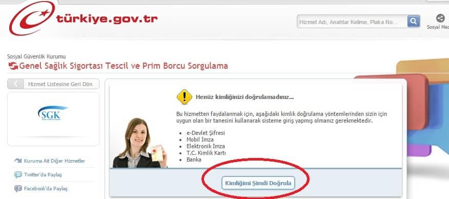 GSS Prim Borcu Sorgulama