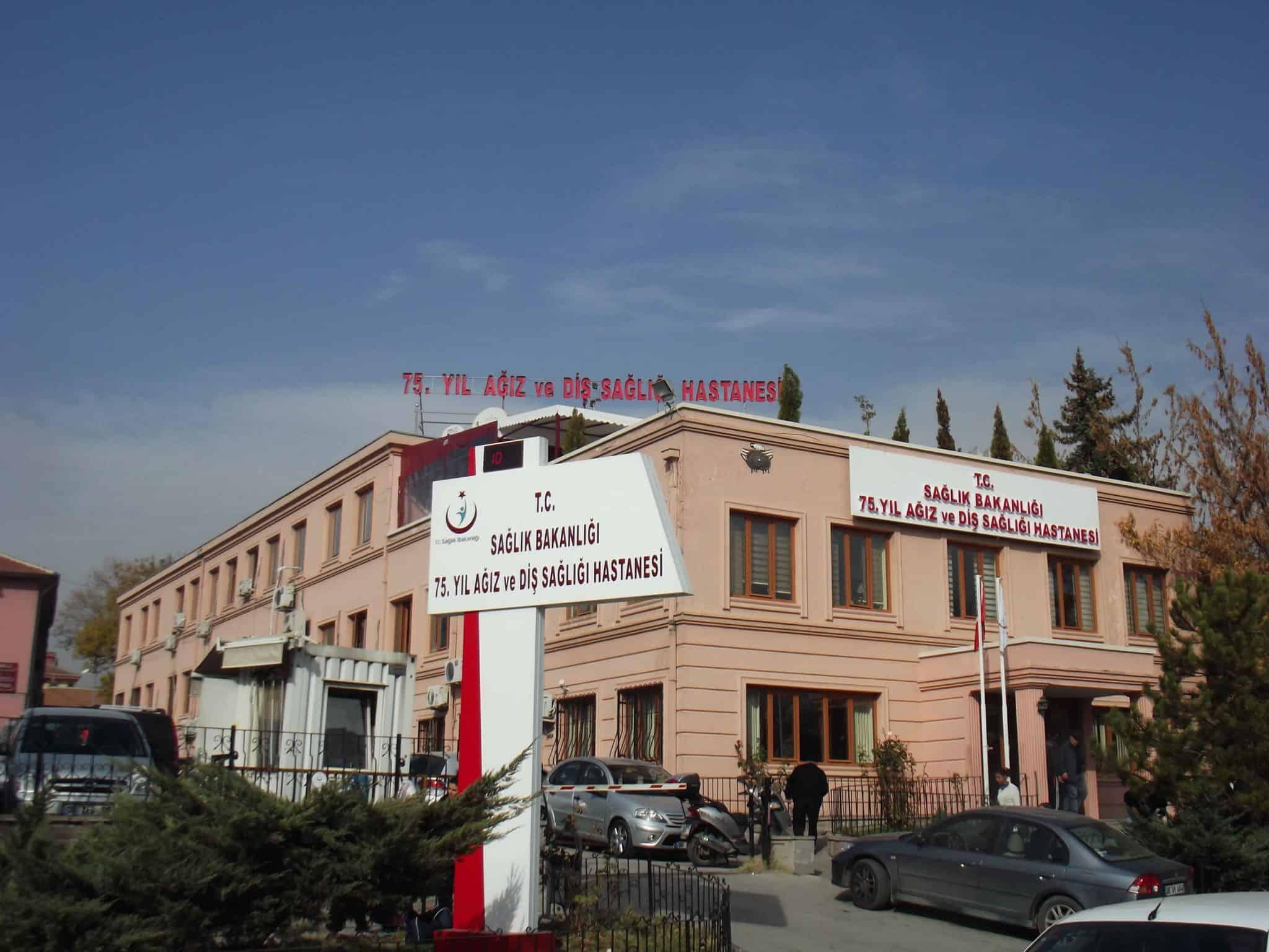 Ankara 75. Yıl Ağız ve Diş Sağlığı Hastanesi