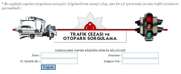 Photo of Trafik Ceza Puanı Sorgulama