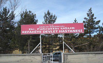 Erzincan Refahiye Dr. Fahrettin Uğur İlçe Hastanesi