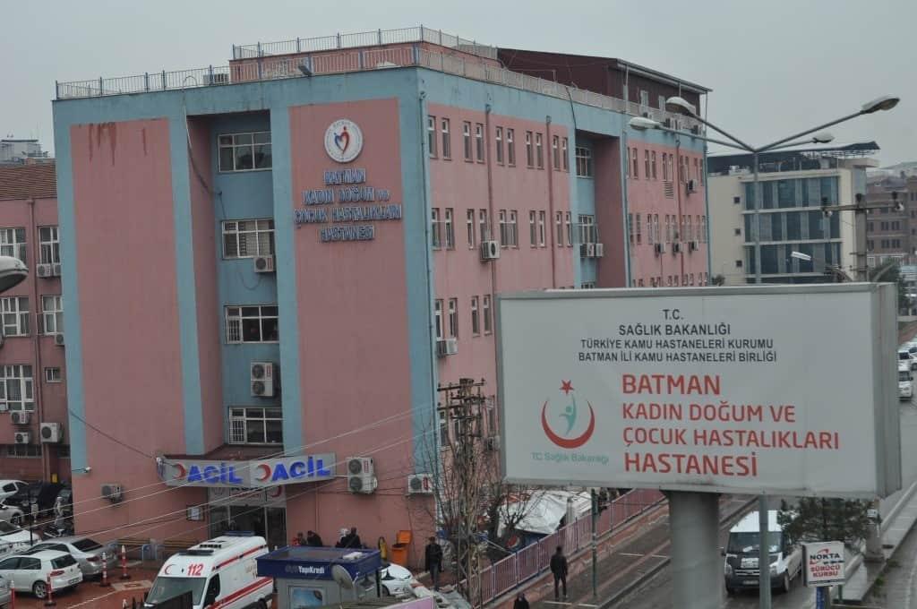 Batman Kadın Doğum Ve Çocuk Hastalıkları Hastanesi