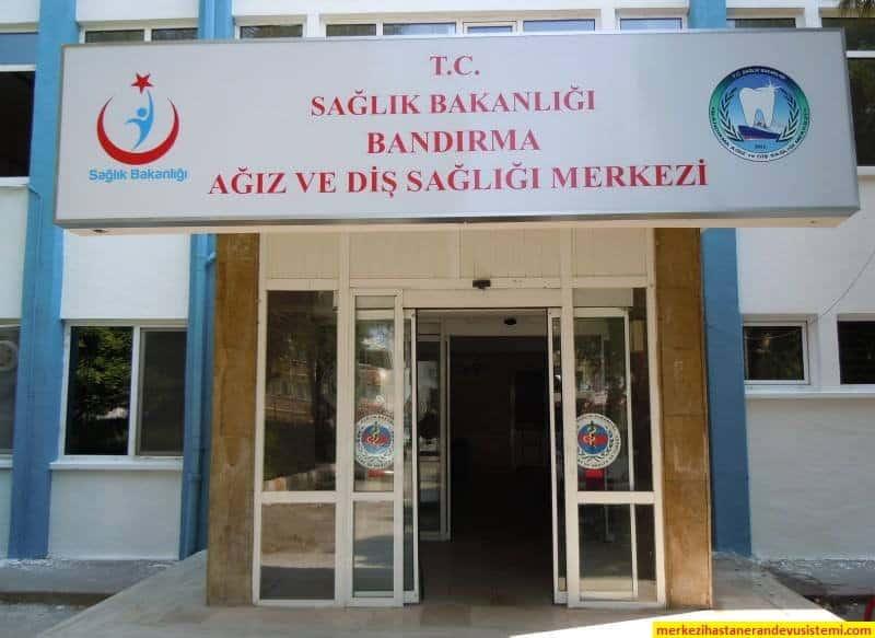 Balıkesir Bandırma Ağız Ve Diş Sağlığı Merkezi