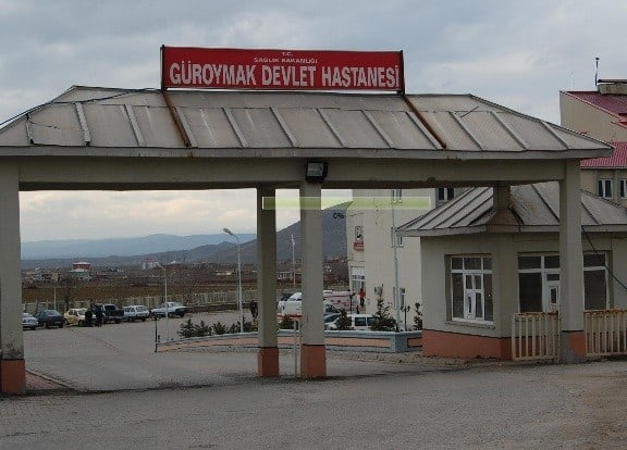 Bitlis Güroymak Devlet Hastanesi