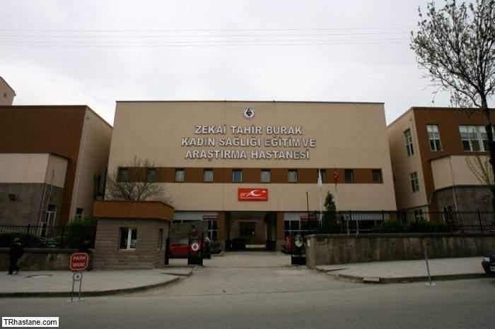 Ankara Dr. Zekai Tahir Burak Kadın Sağlığı Eğitim Ve Araştırma Hastanesi