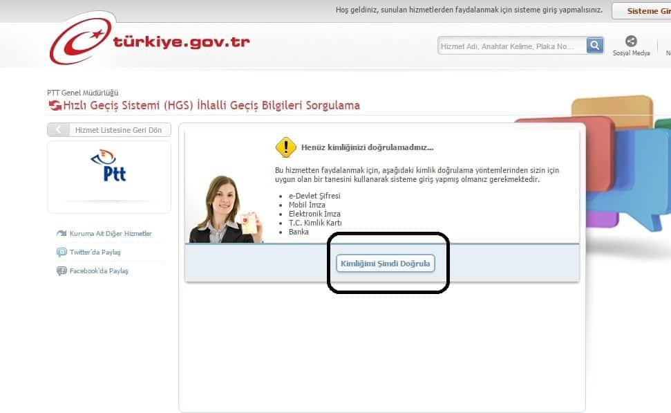 e-devlet hgs,