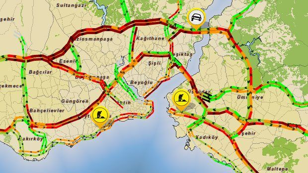 İBB Trafik Durumu