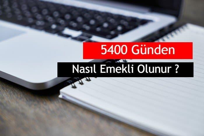 Photo of Bağ-Kur Erkek / Kadın 5400 Günden Nasıl Emekli Olunur?