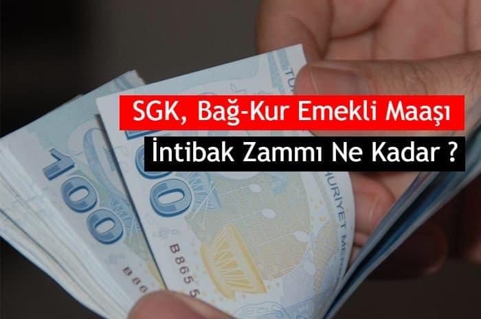 Photo of 2019 SGK, Bağ-Kur Emekli Maaşı İntibak Zammı Ne Kadar ?