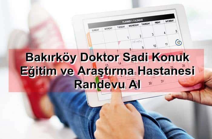 Photo of Bakırköy Doktor Sadi Konuk Eğitim ve Araştırma Hastanesi Randevu Al