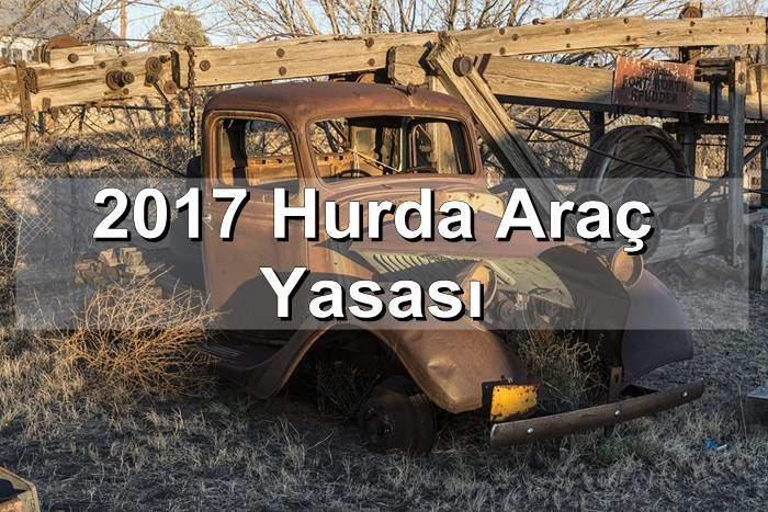 Photo of 2017 Hurda Araç Yasası