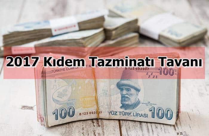 Photo of 2017 Kıdem Tazminatı Tavanı
