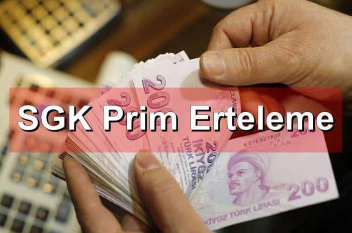 Photo of SGK Prim Erteleme