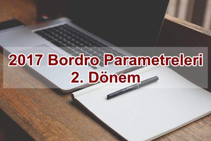 Photo of 2017 Bordro Parametreleri 2. Dönem