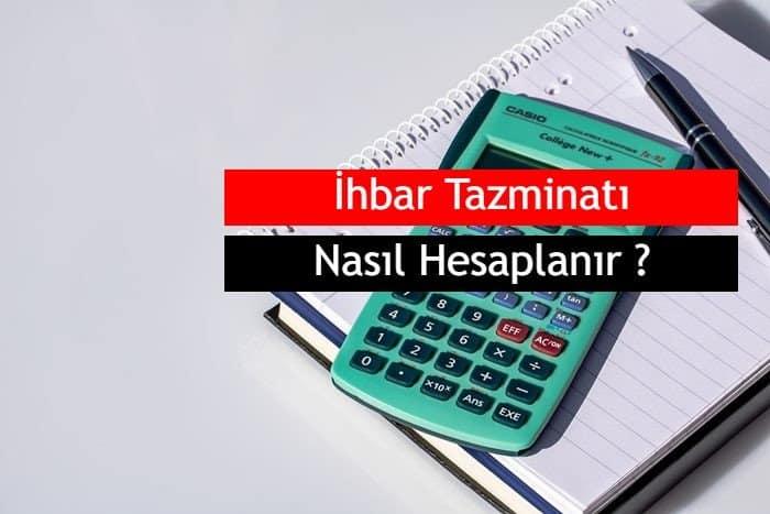 Photo of 2019 İhbar Tazminatı Nasıl Hesaplanır ?