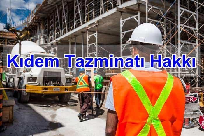 Photo of Kıdem Tazminatı Hakkı