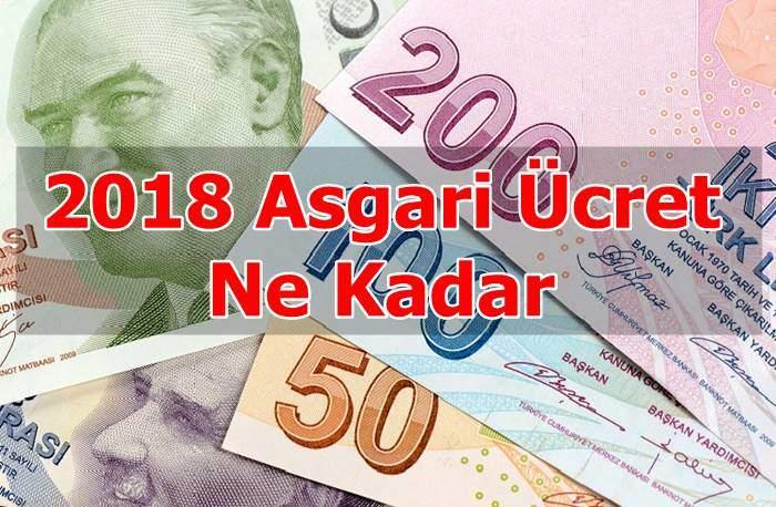 Photo of 2018 Asgari Ücret Ne Kadar