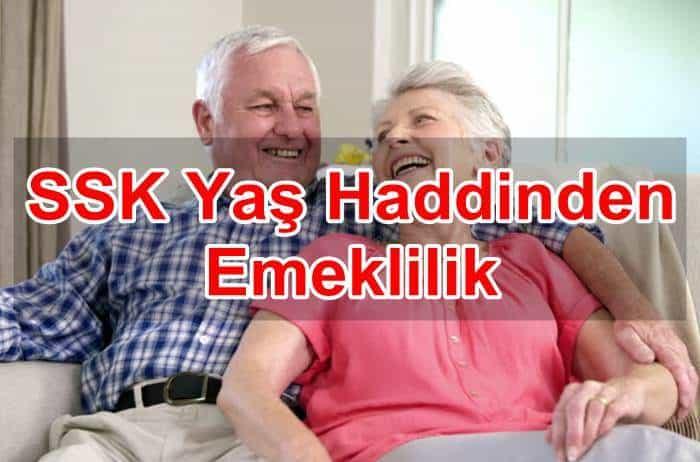 Photo of SSK Yaş Haddinden Emeklilik