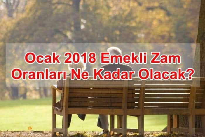 Photo of Ocak 2018 Emekli Zam Oranları Ne Kadar Olacak?