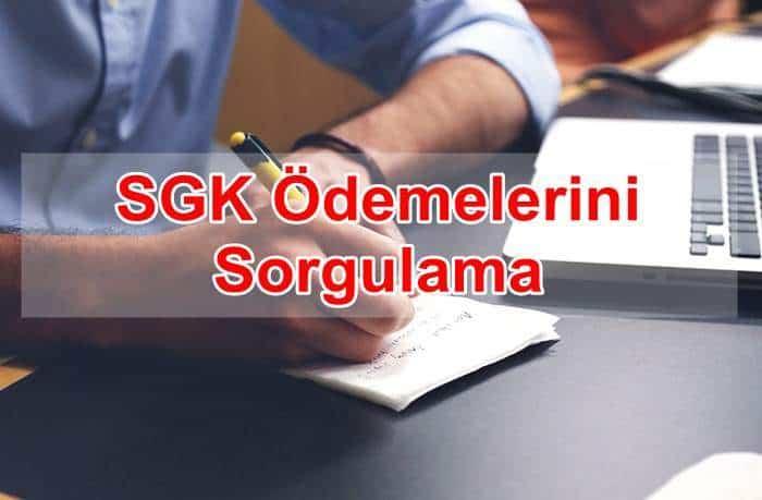 Photo of SGK Ödemelerini Sorgulama