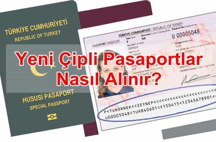 Photo of Yeni Çipli Pasaportlar Nasıl Alınır?
