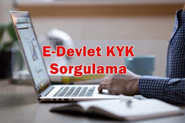Photo of E-Devlet KYK Sorgulama