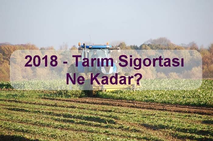 Photo of 2018 – Tarım Sigortası Ne Kadar?