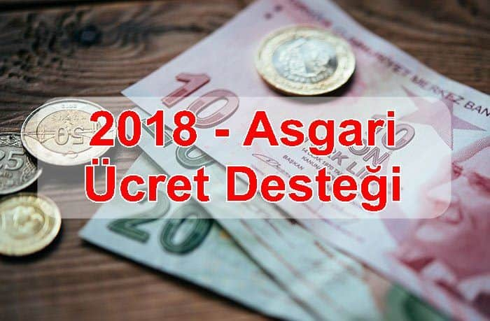 Photo of Asgari Ücret Desteği 2018