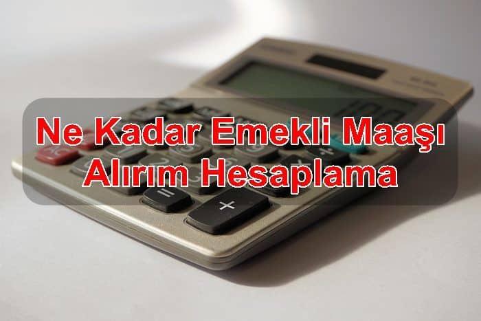 Photo of Ne Kadar Emekli Maaşı Alırım Hesaplama
