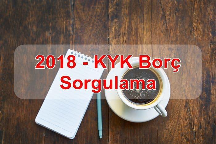 Photo of 2018 – KYK Borç Sorgulama
