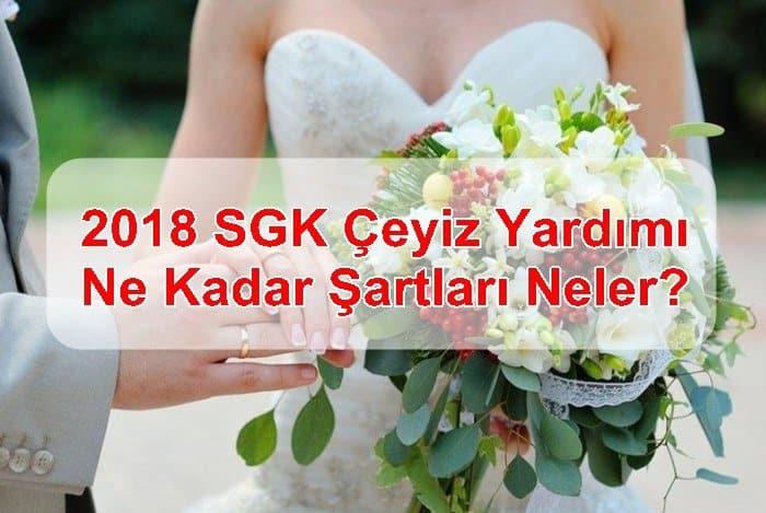 Photo of 2018 SGK Çeyiz Yardımı Ne Kadar Şartları Neler?