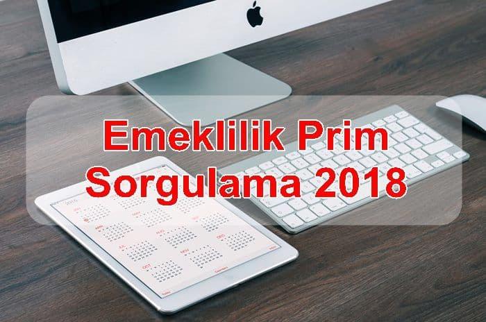 Photo of Emeklilik Prim Sorgulama 2018