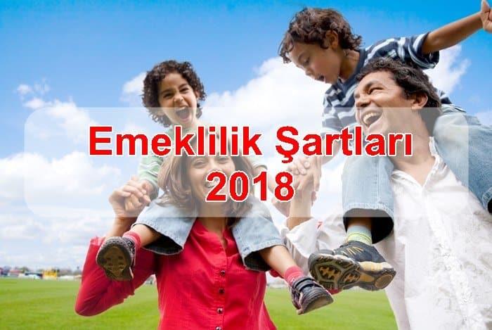 Photo of Emeklilik Şartları 2018