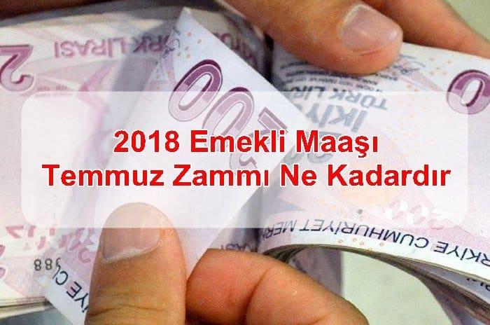 Photo of 2018 Emekli Maaşı Temmuz Zammı Ne Kadardır?