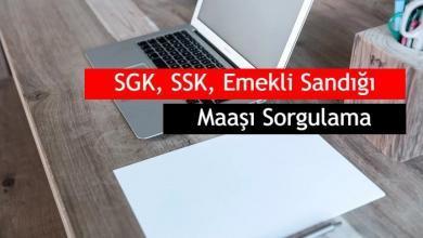 Photo of SGK, SSK, Emekli Sandığı Maaşı Sorgulama Nasıl Yapılır?