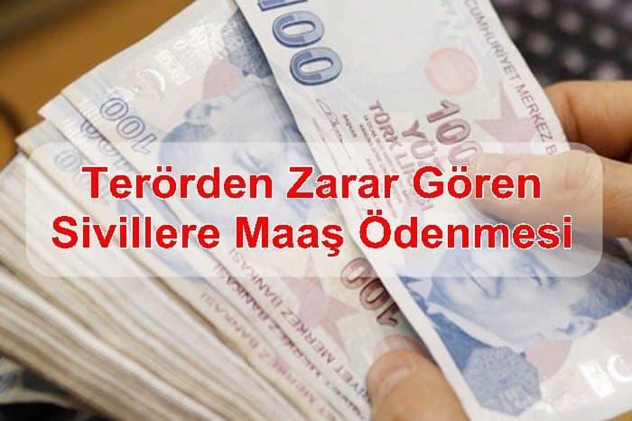 Photo of Terörden Zarar Gören Sivillere Maaş Ödenmesi
