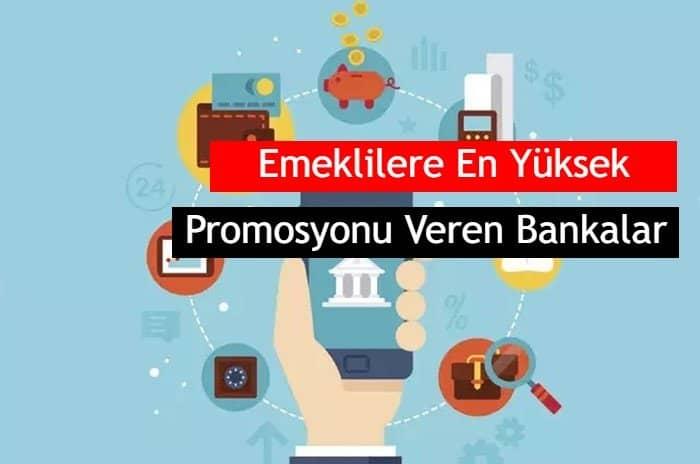 Photo of 2020 Emekliye En Yüksek Promosyonu Veren Bankalar 1.100 TL