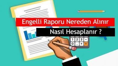 Photo of 2020 Engelli Sağlık Raporu Nasıl Hesaplanır, Nereden Alınır ?